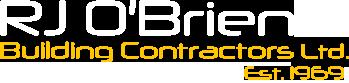 RJ O'Brien Building Contractors Logo